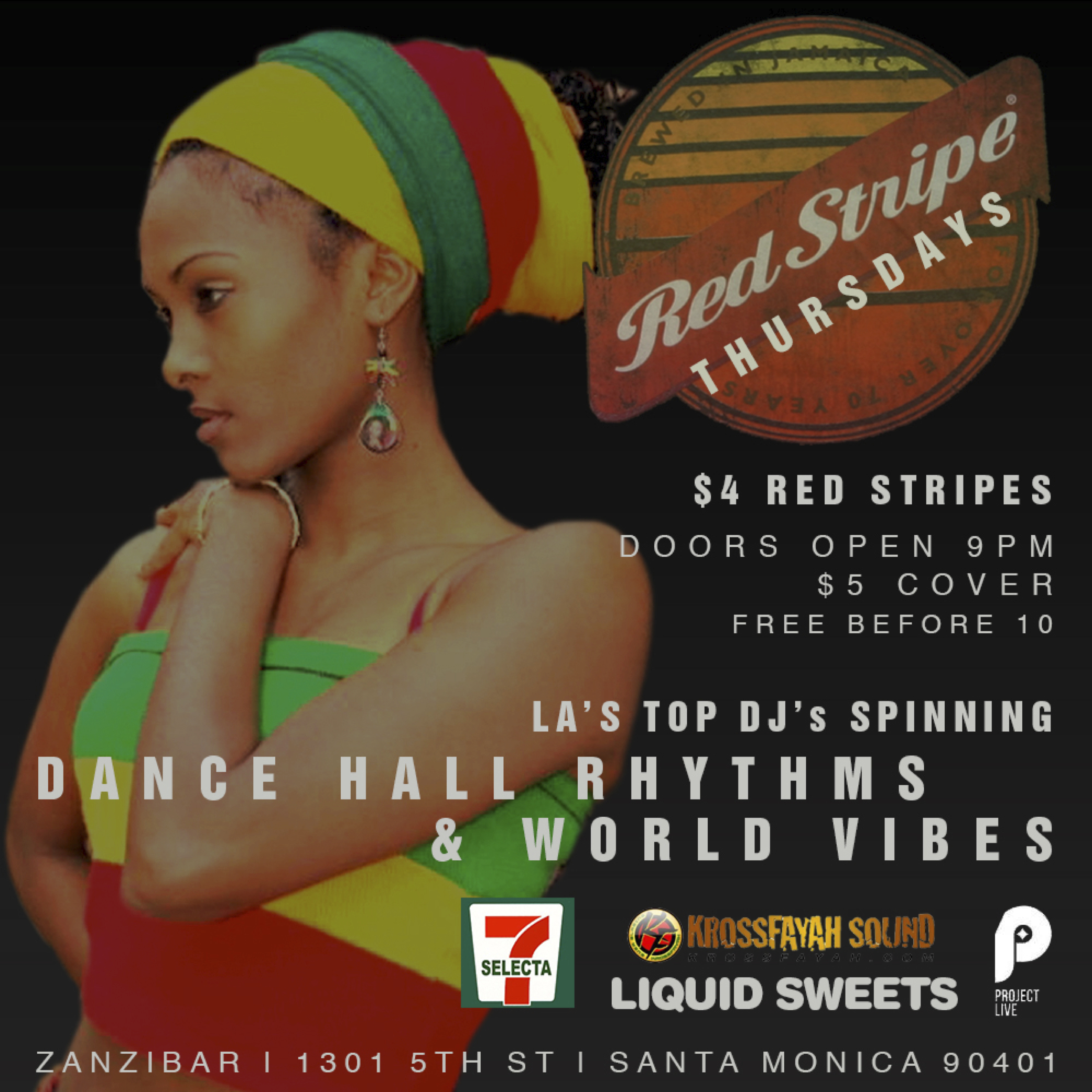 Red Stripe Flyer w Logos